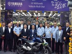 Yamaha reaches 10 million units production mark in India