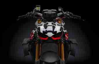 Ducati Streetfighter V4 prototype headlight