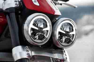 2019 Triumph Rocket 3 R and GT headlight