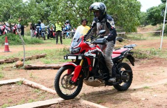 Honda Africa Twin True Adventure Camp reaches Bengaluru