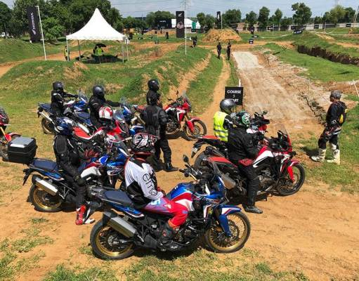 Honda Africa Twin True Adventure Camp
