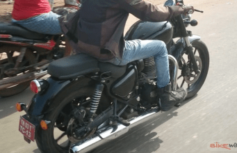 New Royal Enfield Thunderbird X spy shots