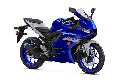 2020 Yamaha YZF-R3 colour option Yamaha Blue