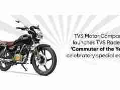 TVS Radeon Celebratory Special Edition