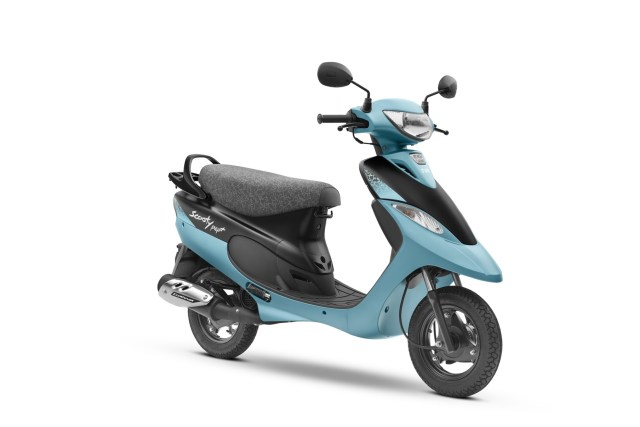 TVS Scooty Pep+ Matte Edition launched