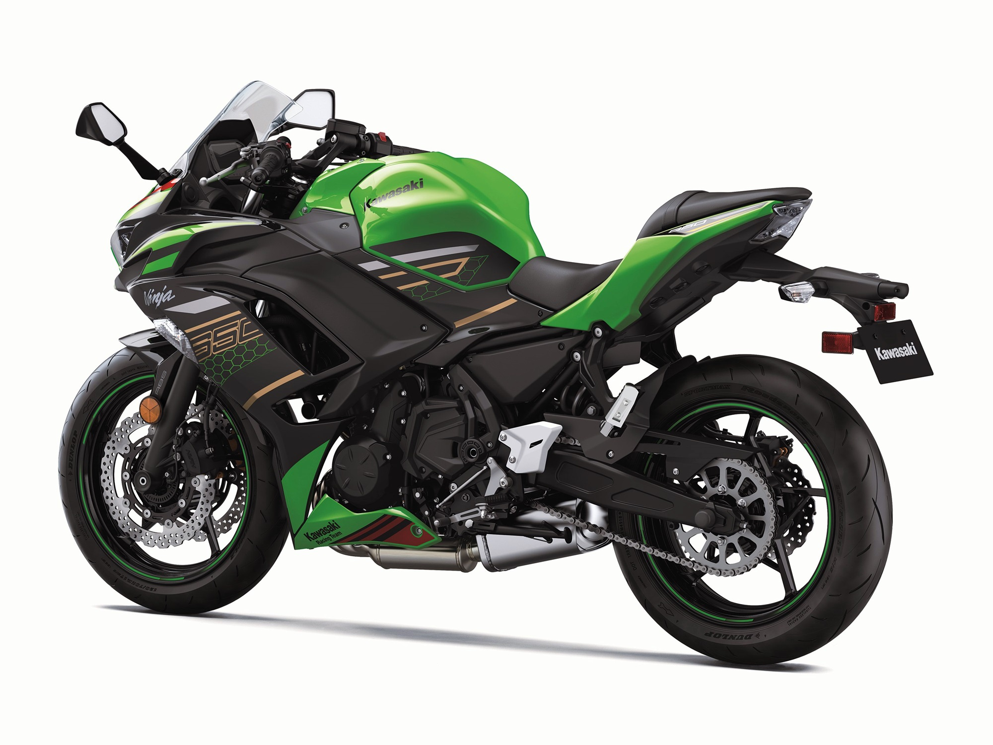 2020 Kawasaki Ninja 650 HD black colour option