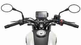 Benelli Leoncino 250 speedometer and handlebars