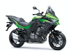 Kawasaki Versys 1000 new green colour