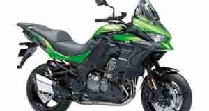Kawasaki Versys 1000 new green colour