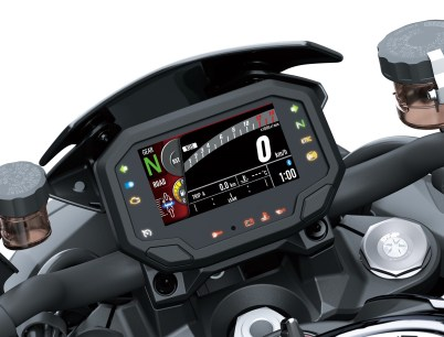 Kawasaki Z H2 TFT screen