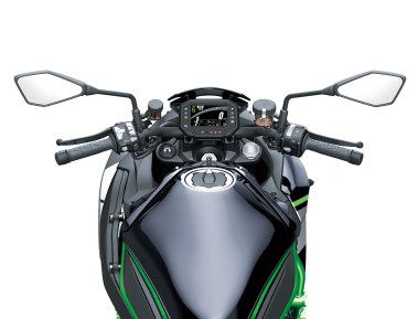 Kawasaki Z H2 handle bar tank and cockpit