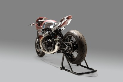 The 30 - custom Continental GT 650 by Krom Works Garage