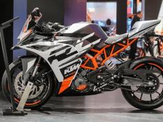 2020 KTM RC 390 new colour at EICMA 2019
