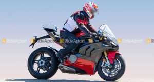 Ducati Panigale V4 Superleggera spy shots