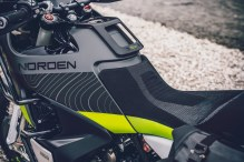 Husqvarna Norden 901 concept tank and seat