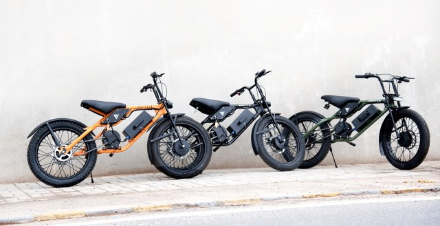 Greenvolt Mobility e bikes - the Mantis