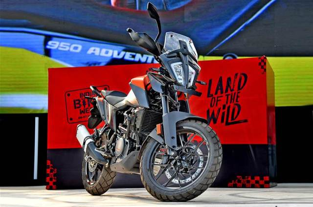KTM 390 Adventure at IBW 2019
