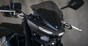 Yamaha MT-03 visor wind screen