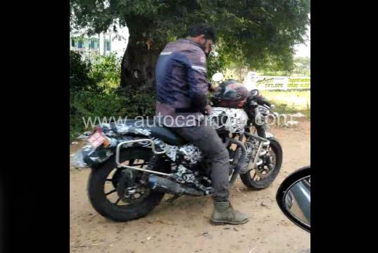 New Royal Enfield mystery bike