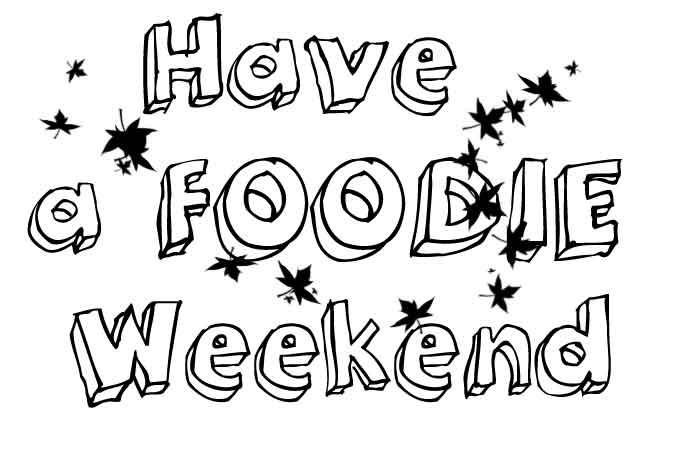 Weekend! Foodie-events 4-5 oktober 2014