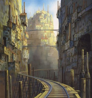 Castle In The Sky: 100 Concept Art Collection