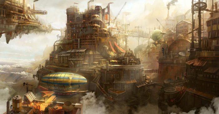Тайлер Эдлин: Небесный город и другие концепты