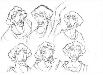 The Prince of Egypt: 100 Original Concept Art Collection