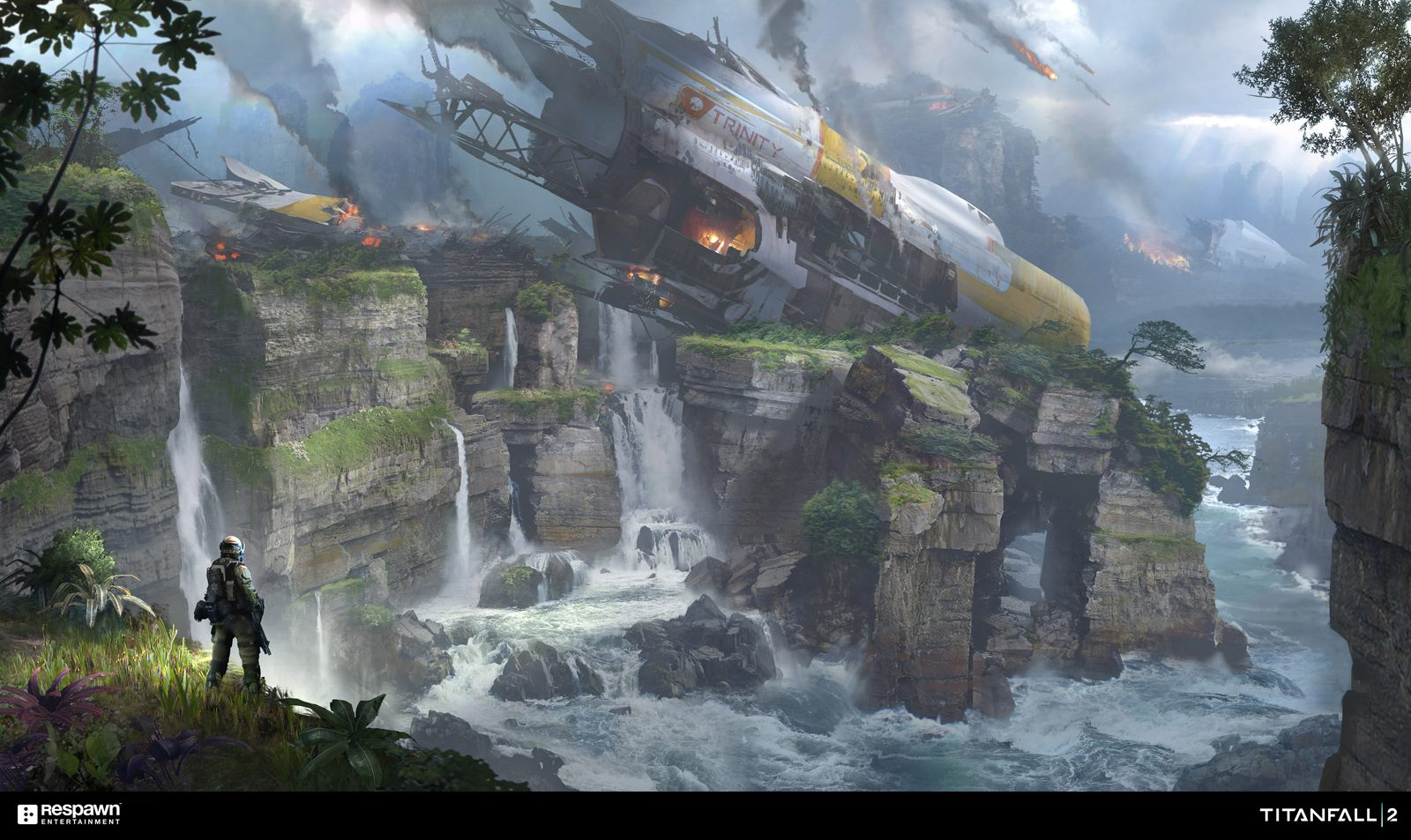 50 Concept Art made for Titanfall 2
