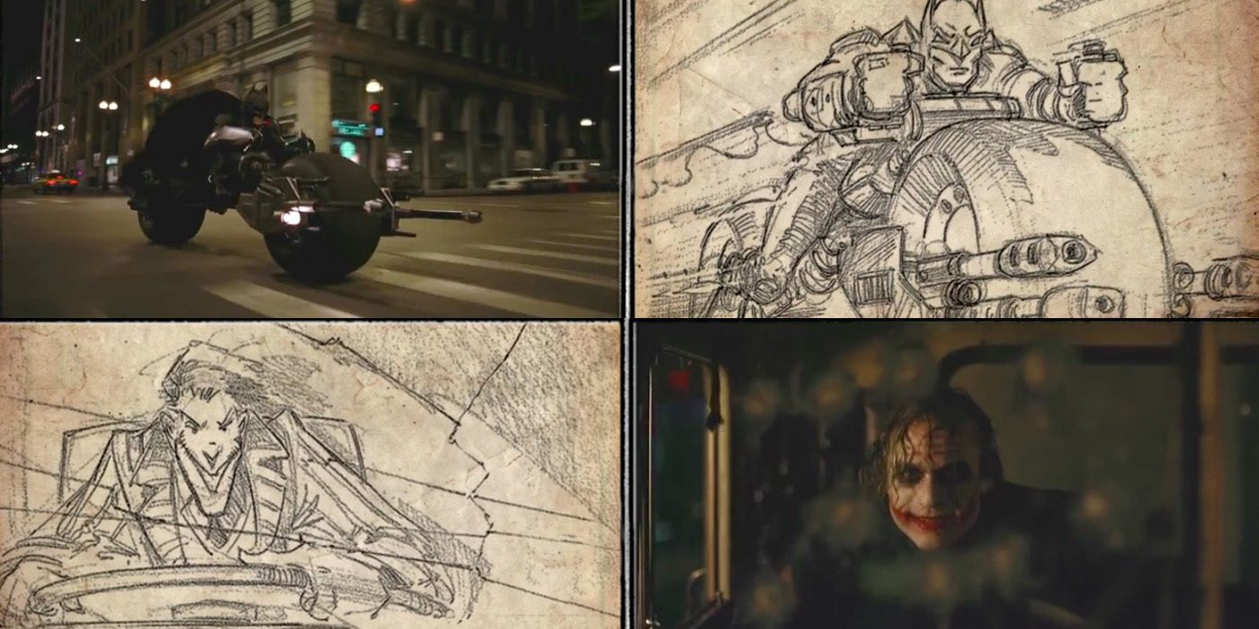 Batman The Dark Knight Storyboard To Film Comparison