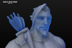 Overwatch: 100 Character Wireframes