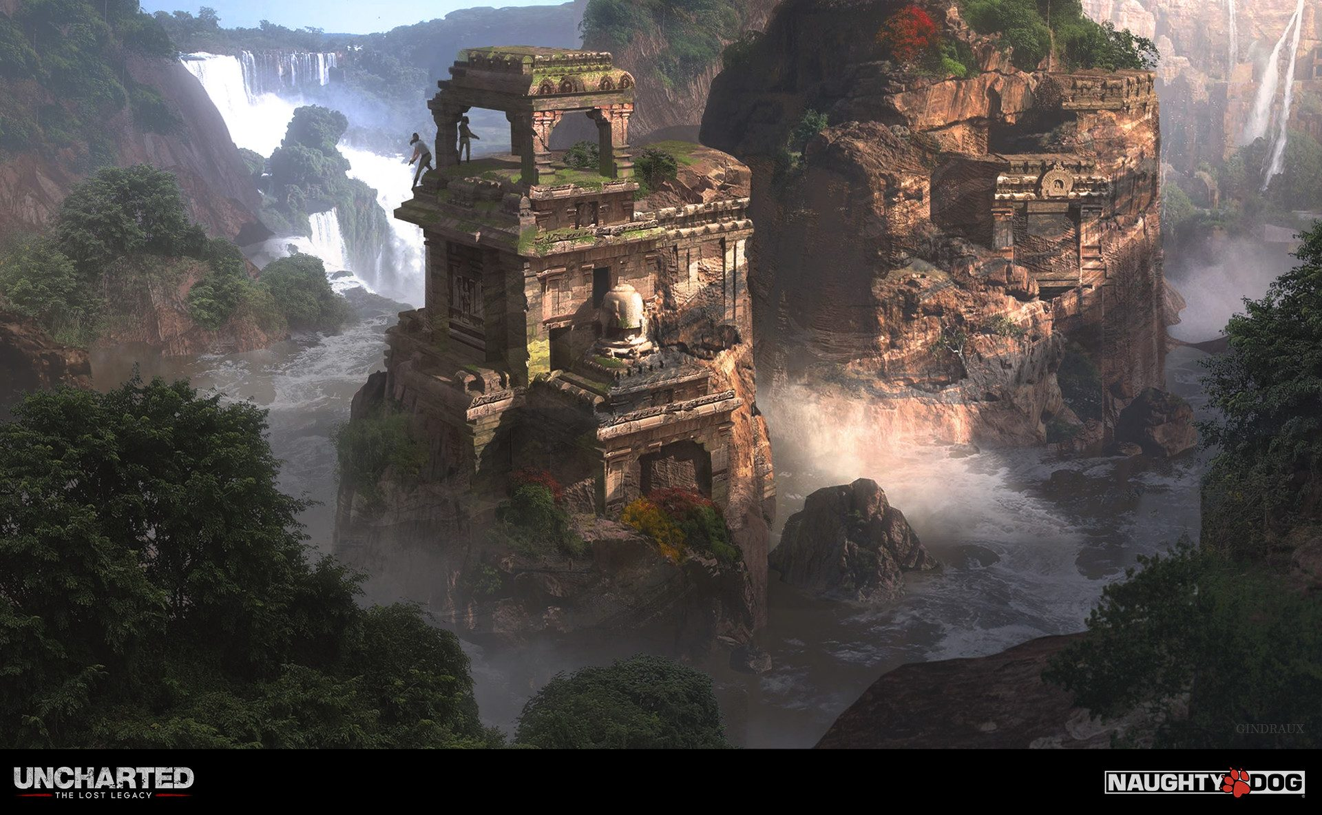 Vfx 3d Wallpaper Pro The Art Of Uncharted The Lost Legacy