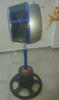 جهاز من اختراع مراهق سوري لحماية المحاصيل الزراعية