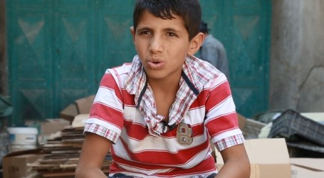 حملة لازم نتعلم … محمد بائع علب الكرتون … يعود للمدرسة مجدداً …