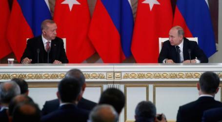 أردوغان: آمل أن أتوصل لهدنة في إدلب مع بوتين