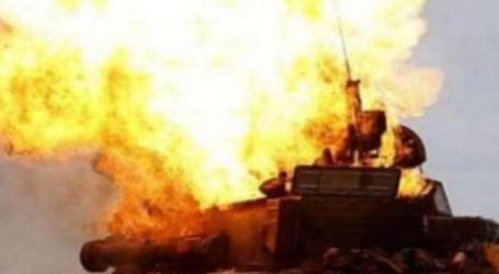 إقتحام بالدبابات واشتباكات في بلدة رنكوس بريف دمشق