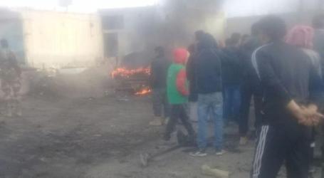 انفجار سيارة مفخخة شمال مدينة الرقة