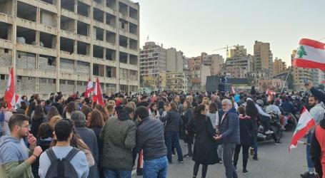 شاهد بالفيديو : مظاهرات وإعتقالات وحرق للمصارف في لبنان