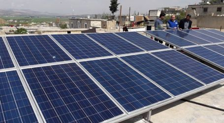 الطاقة الشمسية بديلة لغلاء أسعار الأمبيرات في إدلب وريفها