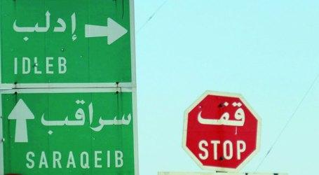 الفصائل تستعيد مدينة سراقب وتقطع طريق حلب – دمشق