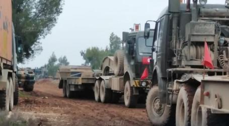"""""""النظام"""" يقصف المواقع الجديدة للجيش التركي في مطار تفتناز"""