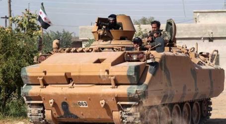 بالمدرعات التركية.. الفصائل تبدأ معركة السيطرة على مدينة سراقب