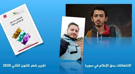 تزايد عدد الانتهاكات بحق الإعلاميين السوريين داخل سورية
