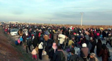 ألمانيا والاتحاد الأوروبي يقدمان مبالغ ضخمة لمساعدة النازحين في إدلب