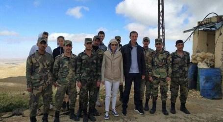 """أول ظهور لبشار الأسد وزوجته بعد تطبيق قانون """"قيصر"""""""