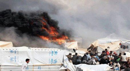 الأردن.. حريق يلتهم خيمة لاجئين ويودي بحياة 4 أطفال