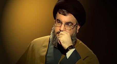 """زعيم """"حزب الله"""" يعلّق على قانون قيصر ويتوعد"""