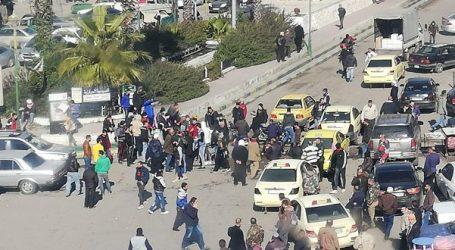 السويداء.. متظاهرون يطالبون بإخراج الميليشيات الإيرانية وروسيا من سوريا