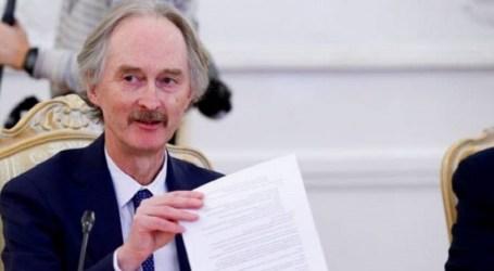 بيدرسون يعلن موعد الجولة الثالثة للجنة الدستورية