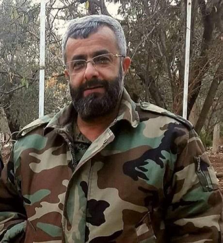 """صورة """"غياث دلة"""" قائد قوات الغيث"""