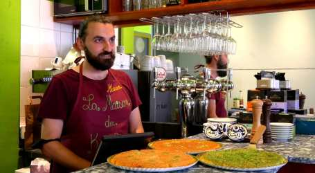 فرنسا : بيت الكنافة السوري في العاصمة الفرنسية باريس